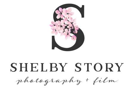Shelby Story Photography Logo